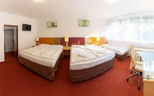 Fem-sengs værelse i bygning B