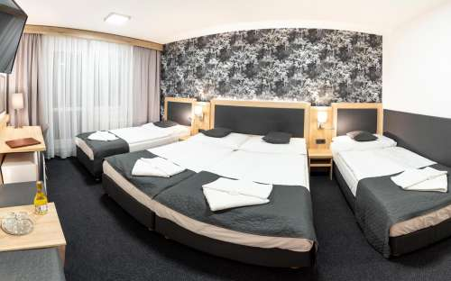 Čtyřlůžkový standardní pokoj