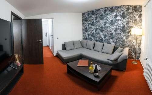 Nadstandardní apartmán 605 pro dva s možností 3 přistýlek