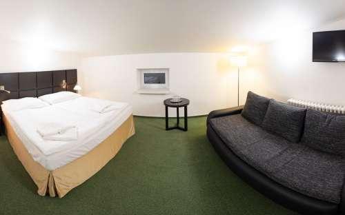 Nadstandardní apartmán 607 pro pět osob s možností 2 přistýlek