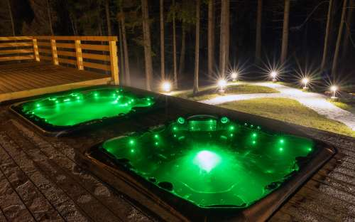 Wellness faciliteiten in het hotel Kamzík, gasten van het pension Eden beschikbaar