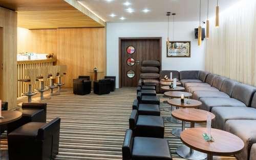 Bar v hotelu Kamzík