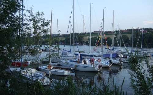 Lager von Pavlov - Boote