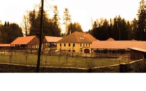 Farma Zevlův mlýn - penzion jižní Čechy