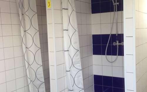 Nové sprchy