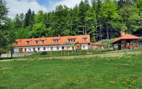 Hájenka Hradiště - ubytování jižní Čechy