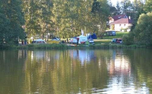 Chaty Malý Ratmírov - čluny