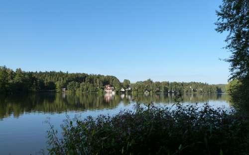 Chaty Malý Ratmírov - ratmírovský rybník