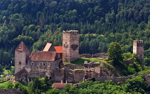 castle Hardegg - Austria approx. 5 km from the guest house