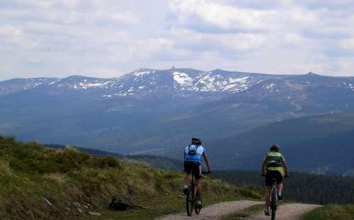 Mountainbiken Isergebirge