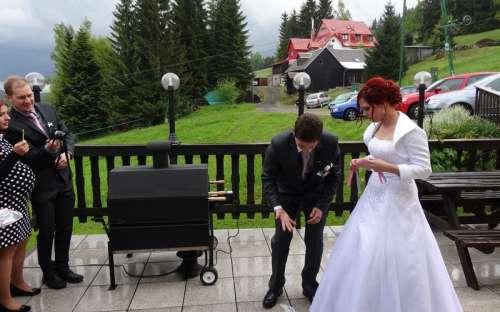 Svatba U Huberta
