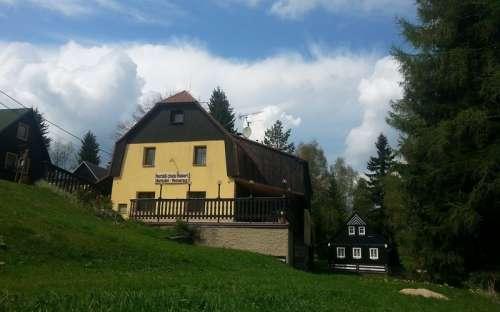 Chata Hubert, Bedřichov Jizerské hory, Liberecko