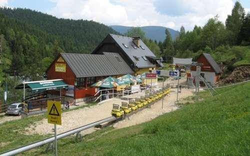 Horská chata Kaste, Ostružná, Olomoucký kraj