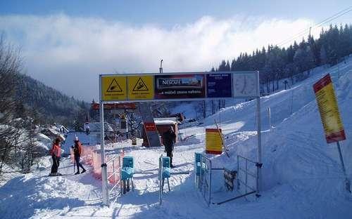 Ski areál Kaste