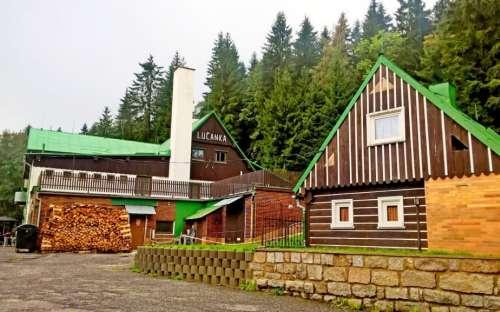 Horská chata Lučanka, Lučany nad Nisou, Jizerské hory, Liberecký kraj