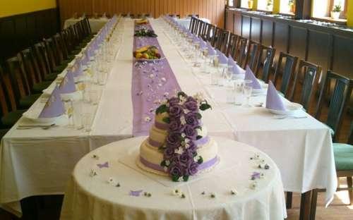 Spisestue - Salong - Bryllupsmottakelser
