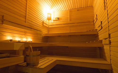 Wellness in hotel Kamzík - sauna