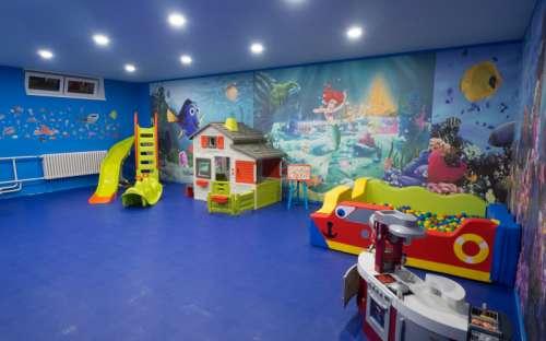 Børne spillerum på Hotel Kamzík