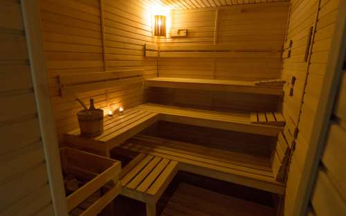 Finská sauna v hotelu Kamzík