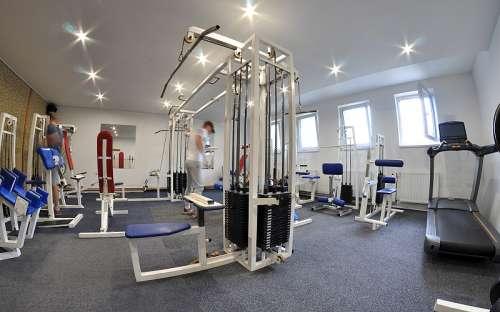 Fitness v hotelu Kamzík