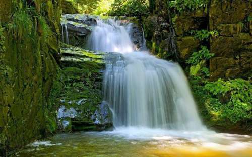 Rešov waterfalls