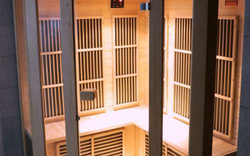 Infra sauna v hotelu Kamzík