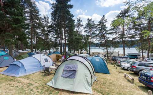 Campeggio Vranovská Beach - campeggio, tende