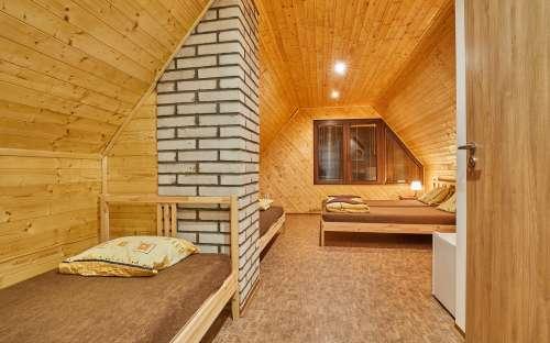 フィンランドのコテージの床