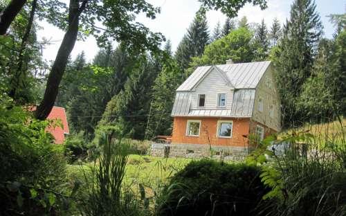 Cottage Marek Lubinský, IJzergebergte