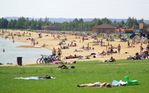 Kemp Michal - pláž a koupání