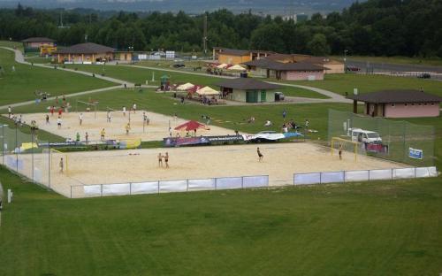 Kemp Michal - sportoviště