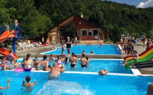 Kemp Bítov - bazény