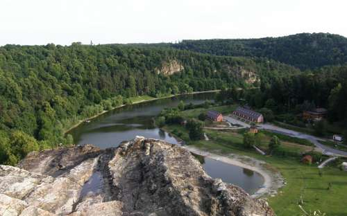 Kemp Bítov - Vranovská přehrada