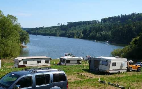 Camping Bukovanská Zátoka - campingvogne