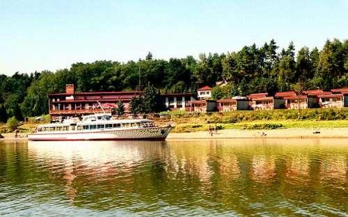 Rekreační středisko Butov - Hracholusky přehrada