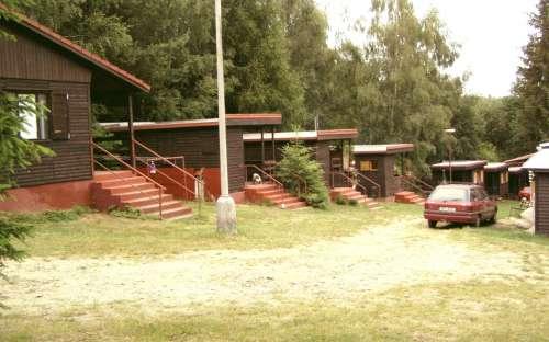 Kemp Chatrek - Hütten