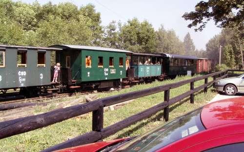 Camp Chatrek - trein