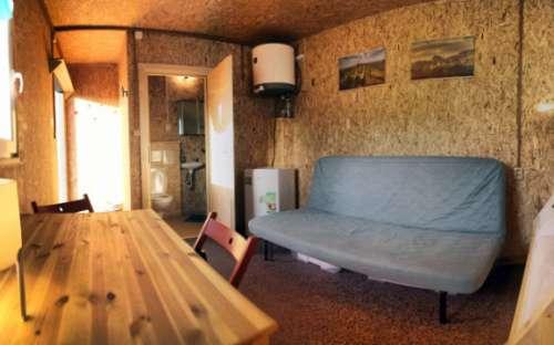 Kemp Děčín - bungalovy