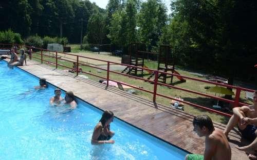 Kemp Resort Dešná - bazén