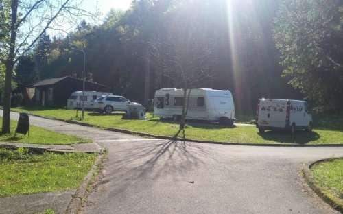 Kemp Dešná - karavany