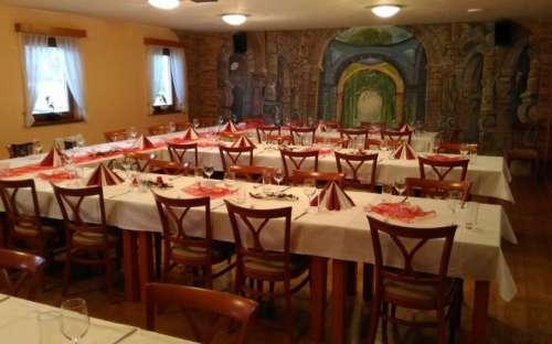 Kemp Resort Dešná - restaurace