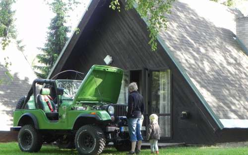 Camping Dolce - huisjes