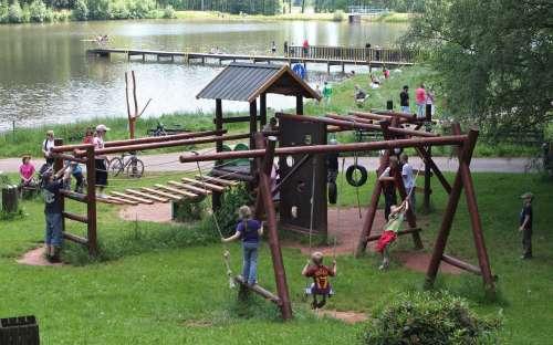 Kemp Dolce - dětské hřiště