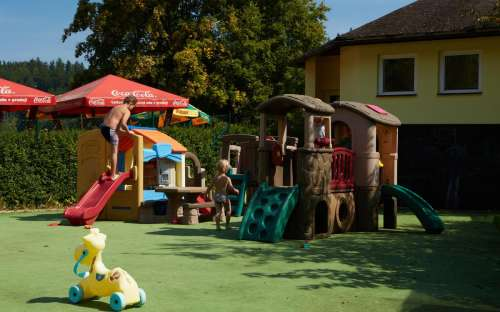 Camping Dolce - kinderspeelplaats voor de kleinsten