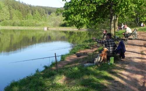 Kemp Dolce - rybaření