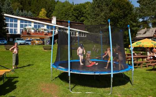 Camping Dolce - Trampoline voor kinderen