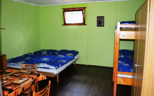 Camp Elita - Lago Máchovo - interno cabina