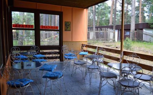 Camp Elita - Máchovo Lake - terrace