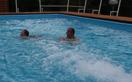 Areál H-resort - bazén