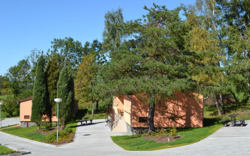 H-resort-området - hytter
